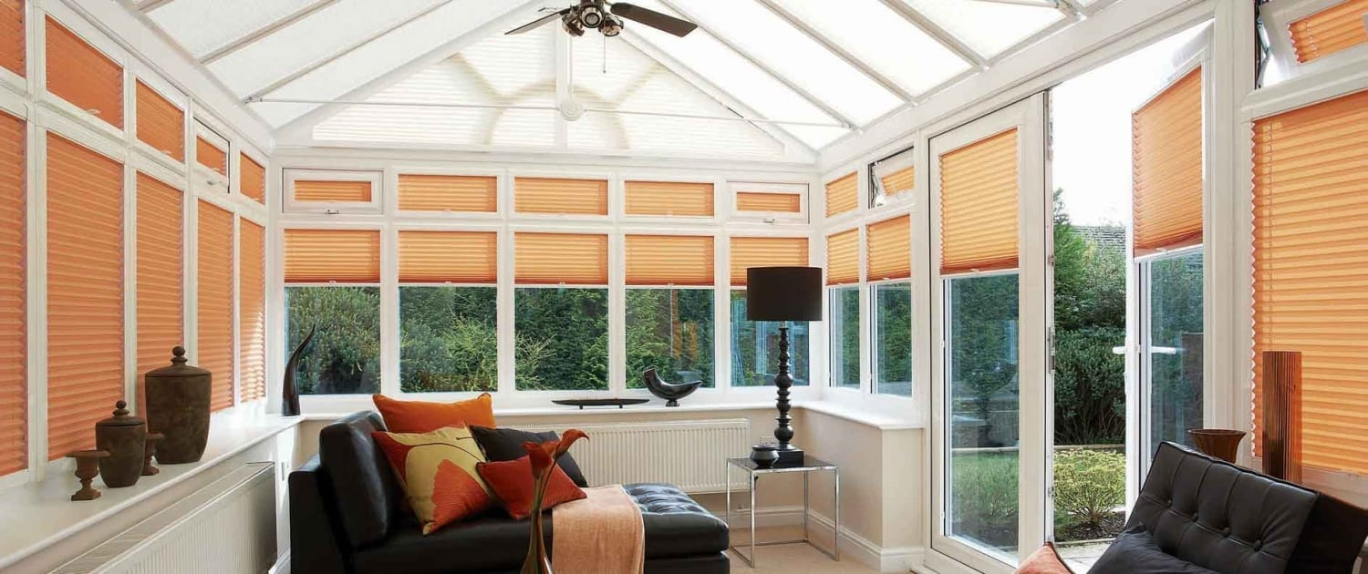 Perfect-Fit Pleated Blinds